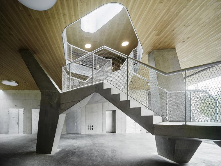 瑞士Rotsee湖赛艇中心-009-Rowing-Center-Lake-Rotsee-by-AFGH-Architects