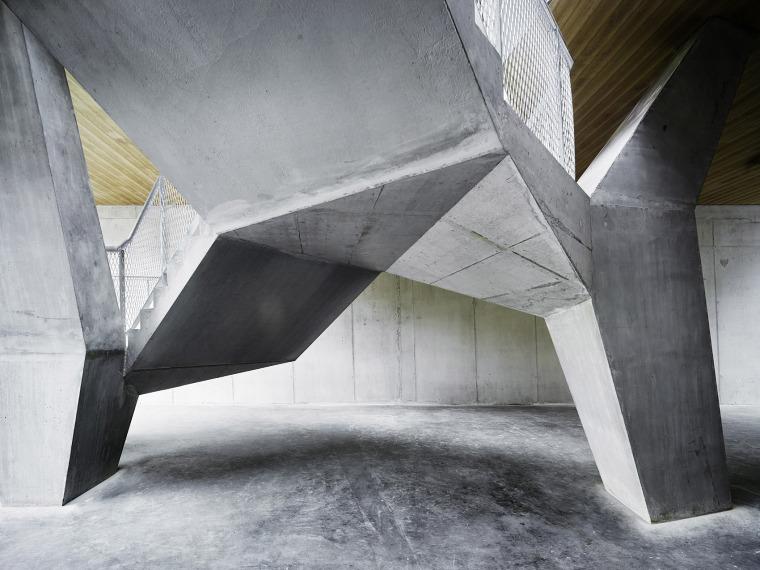 瑞士Rotsee湖赛艇中心-008-Rowing-Center-Lake-Rotsee-by-AFGH-Architects