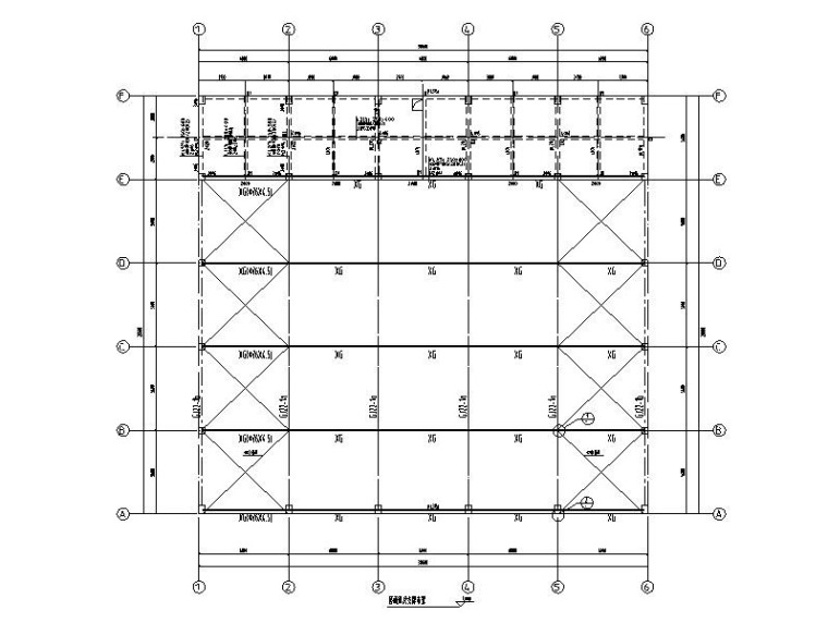劳斯莱斯钢构展厅结构施工图