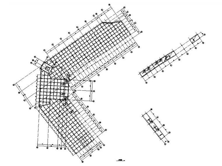 广州佛罗伦萨小镇购物中心结构施工图
