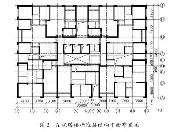 250m高钢筋混凝土框筒结构加强层设置探讨