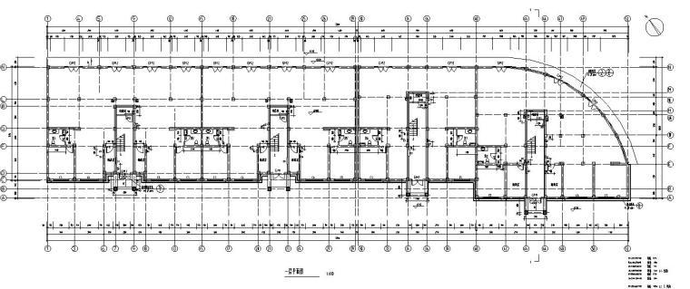 6层四单元每单元2户住宅楼设计图