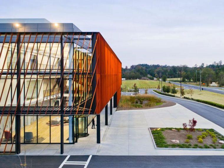 Gensler设计的五个办公楼,在这上班才有范_8