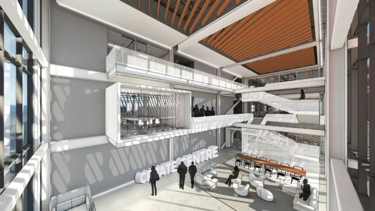 Gensler设计的五个办公楼,在这上班才有范_10