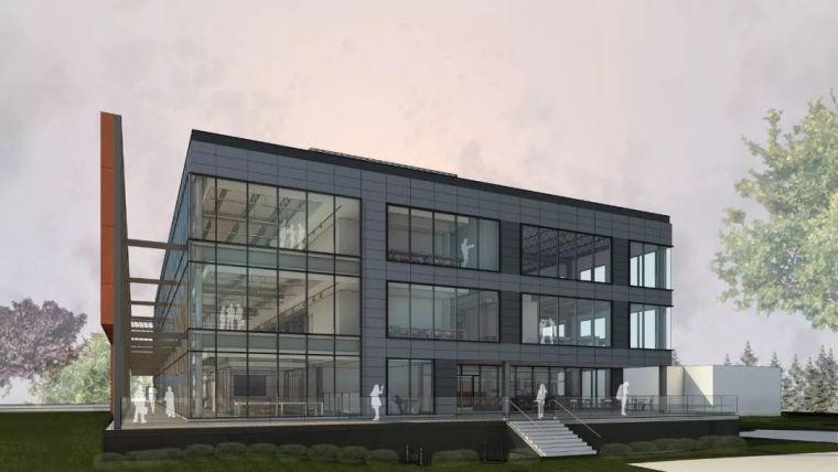 Gensler设计的五个办公楼,在这上班才有范_7