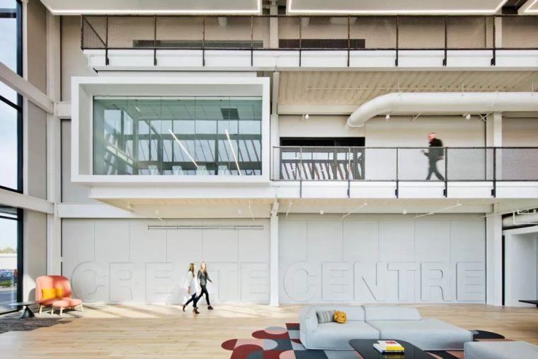 Gensler设计的五个办公楼,在这上班才有范_12