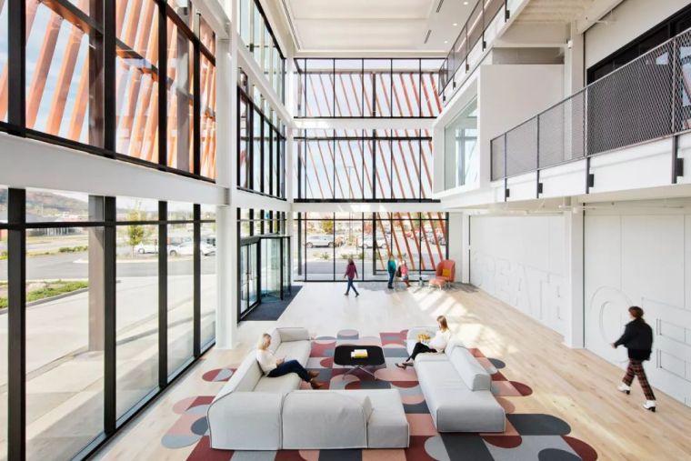 Gensler设计的五个办公楼,在这上班才有范_11