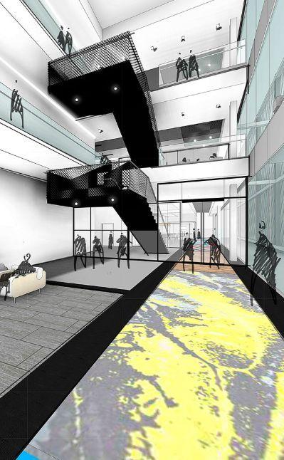 Gensler设计的五个办公楼,在这上班才有范_14