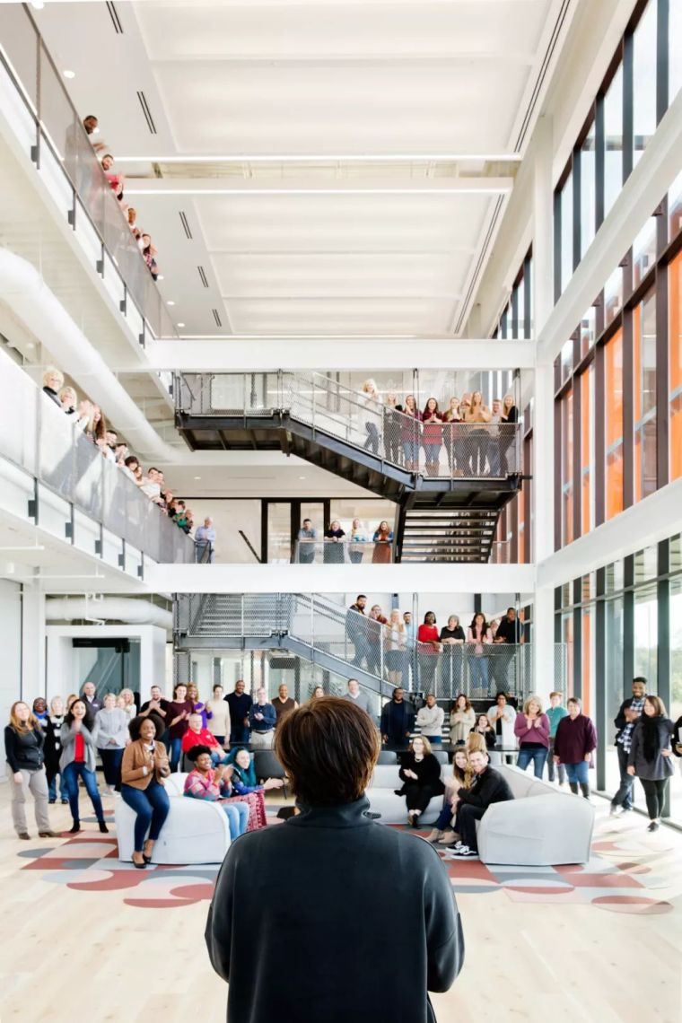 Gensler设计的五个办公楼,在这上班才有范_15