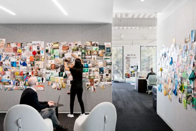 Gensler设计的五个办公楼,在这上班才有范_25