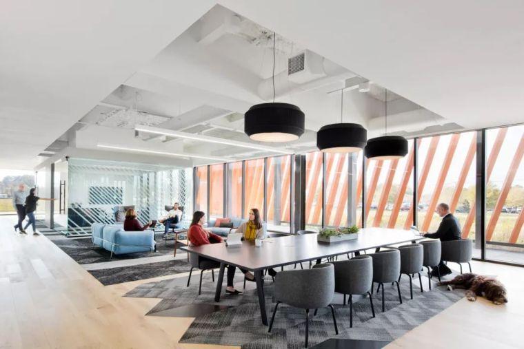 Gensler设计的五个办公楼,在这上班才有范_23