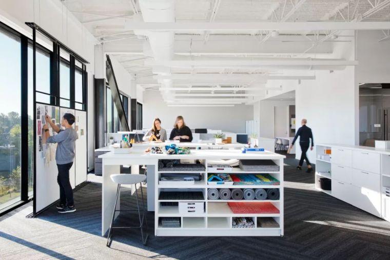 Gensler设计的五个办公楼,在这上班才有范_29