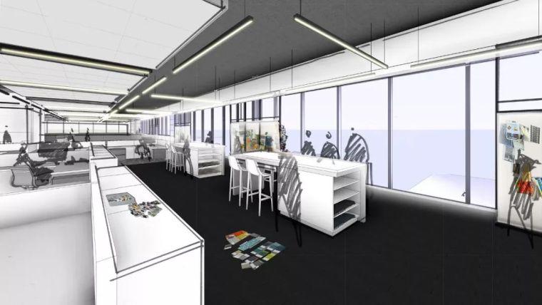 Gensler设计的五个办公楼,在这上班才有范_28