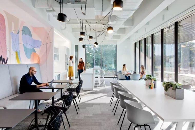 Gensler设计的五个办公楼,在这上班才有范_27