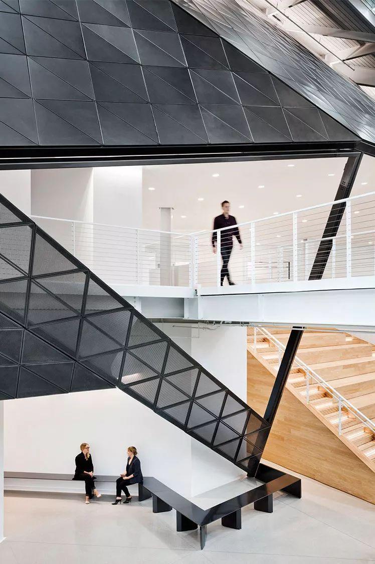 Gensler设计的五个办公楼,在这上班才有范_34