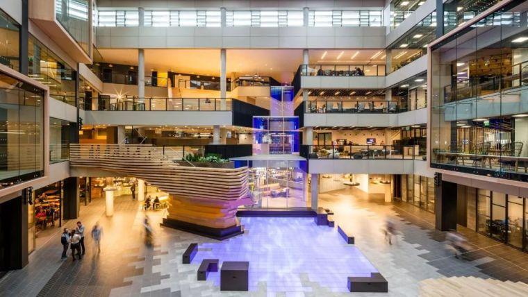 Gensler设计的五个办公楼,在这上班才有范_37