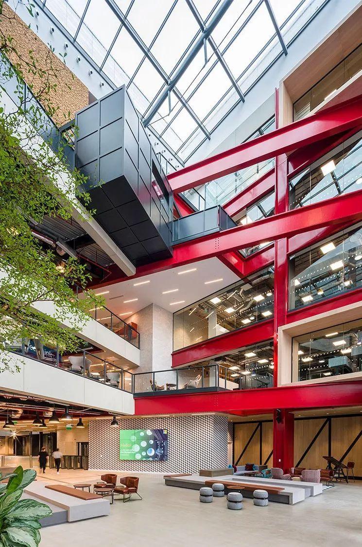 Gensler设计的五个办公楼,在这上班才有范_38