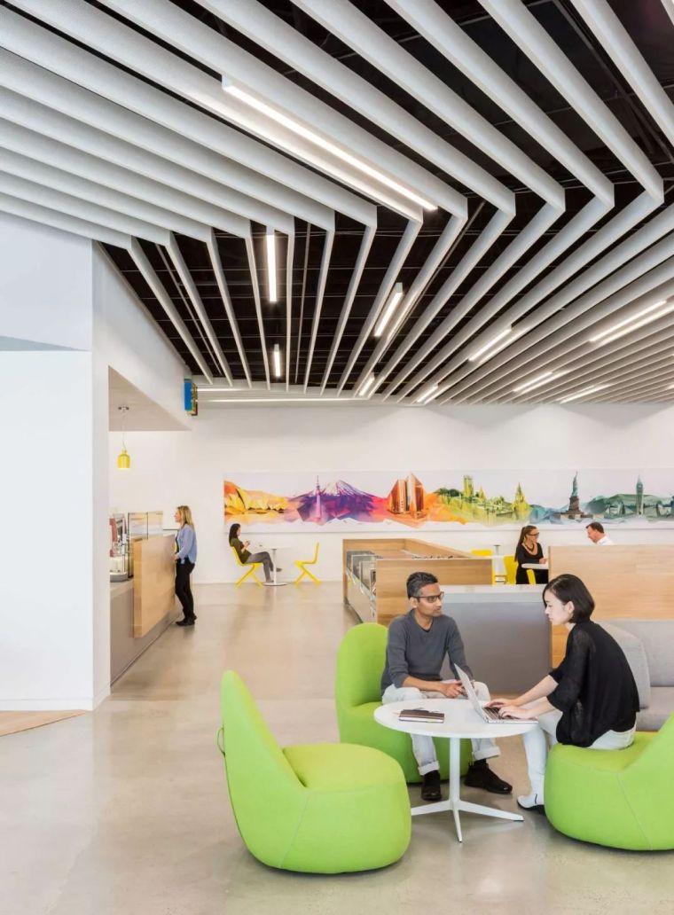 Gensler设计的五个办公楼,在这上班才有范_46