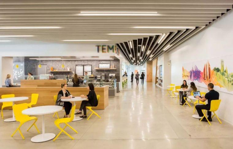 Gensler设计的五个办公楼,在这上班才有范_47