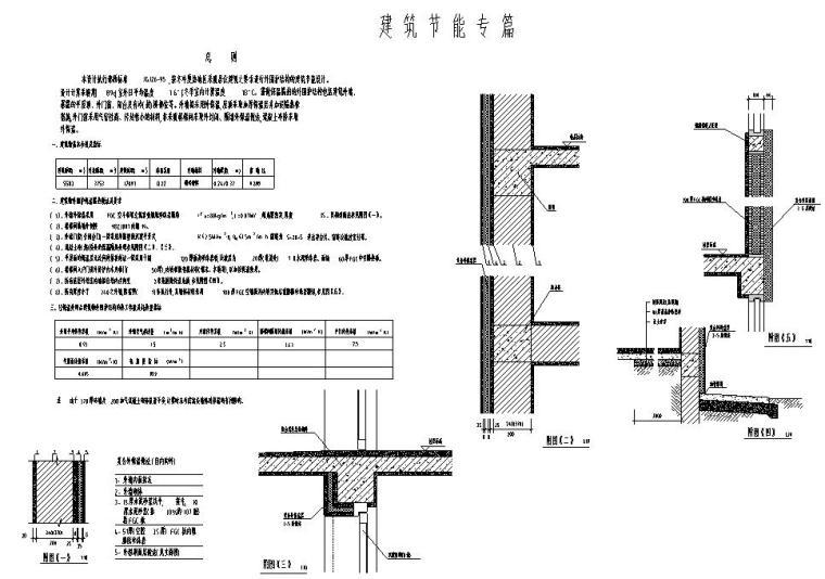 六层三单元两种户型节能住宅户型图设计-节能设计