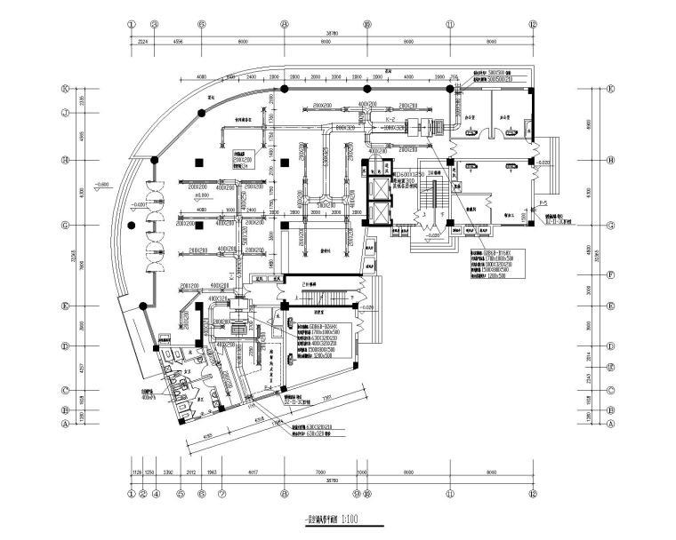 旅馆的中央空调系统设计(全套CAD图)
