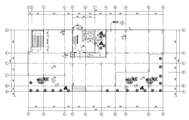 13层1梯3户住宅楼户型设计图