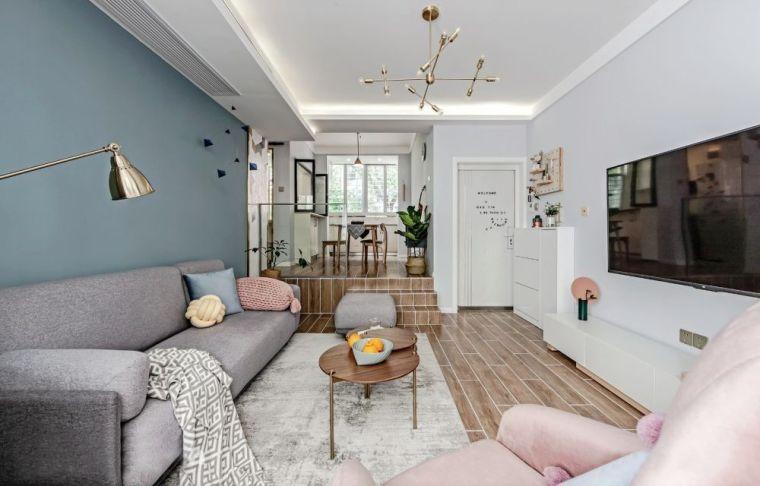 140㎡清新北欧3室2厅,简约而舒适的生活格