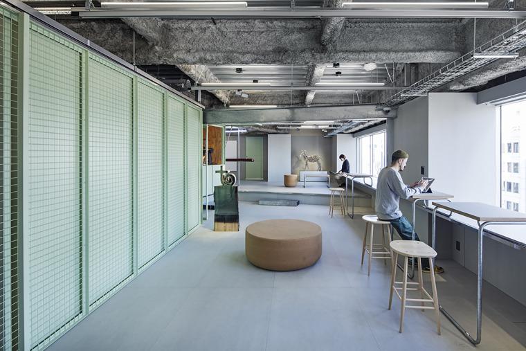 日本Toy'sFactory音乐厂牌办公空间-15-toys-factory-by-schemata-architects
