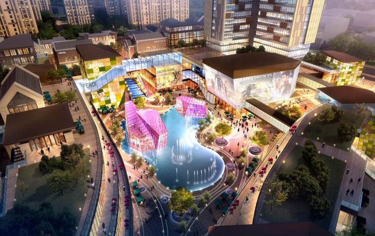 [湖南]长沙绿地新都会建筑模型设计-长沙知名地产新都会 (3)