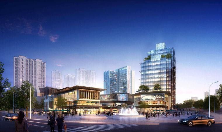 [湖南]长沙绿地新都会建筑模型设计-长沙知名地产新都会 (2)