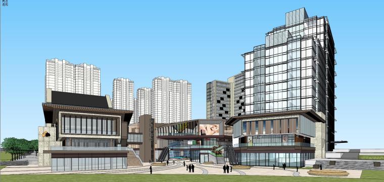 [湖南]长沙绿地新都会建筑模型设计-长沙知名地产新都会 (5)