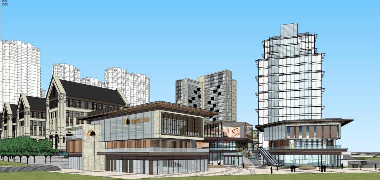 [湖南]长沙绿地新都会建筑模型设计-长沙知名地产新都会 (4)