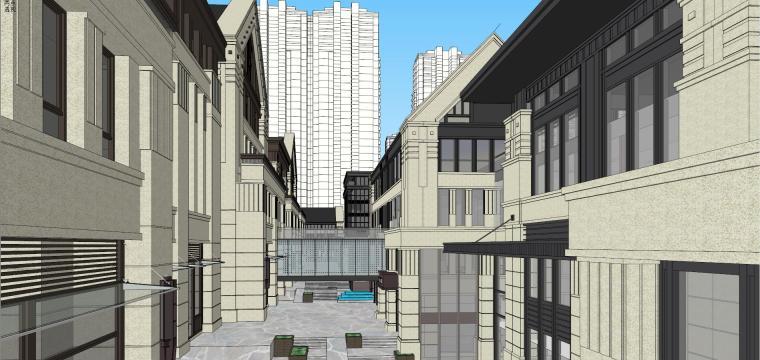 [湖南]长沙绿地新都会建筑模型设计-长沙知名地产新都会 (8)