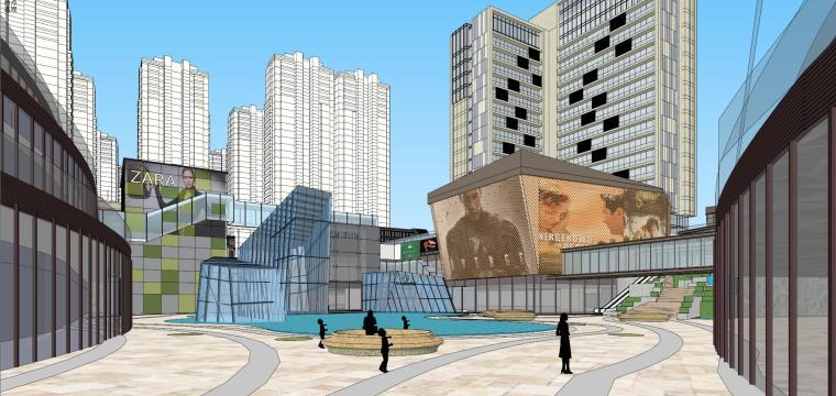 [湖南]长沙绿地新都会建筑模型设计-长沙知名地产新都会 (7)