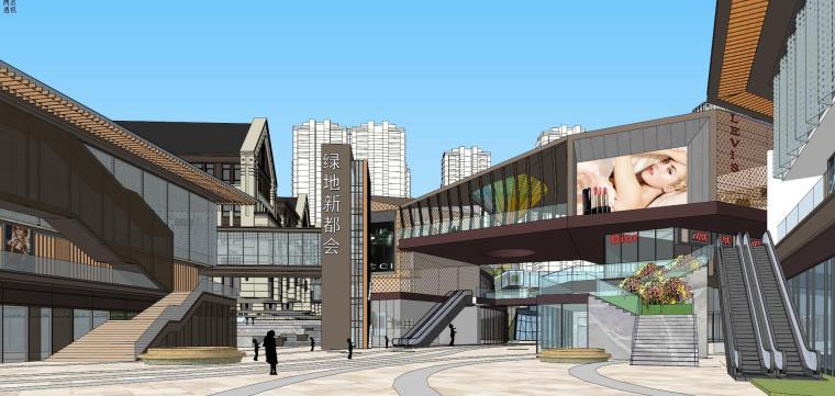 [湖南]长沙绿地新都会建筑模型设计-长沙知名地产新都会 (6)