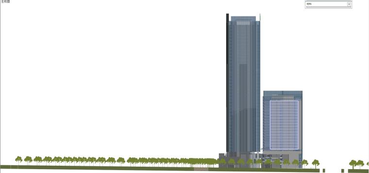 现代风格商业建筑模型设计-长沙知名地产中心 (12)