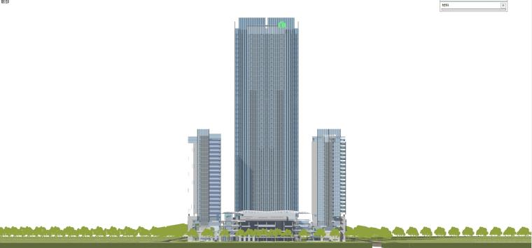 现代风格商业建筑模型设计-长沙知名地产中心 (11)