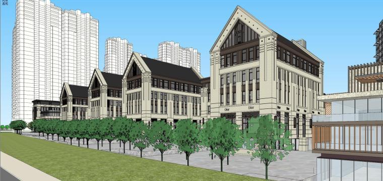 [湖南]长沙绿地新都会建筑模型设计-长沙知名地产新都会 (9)