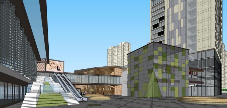 [湖南]长沙绿地新都会建筑模型设计-长沙知名地产新都会 (11)