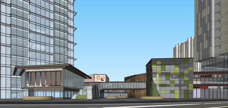 [湖南]长沙绿地新都会建筑模型设计-长沙知名地产新都会 (10)