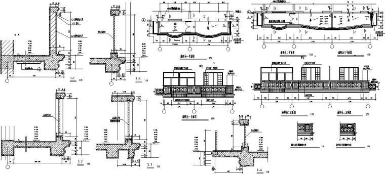 六层跃七层三单元对称户型设计图-大样图