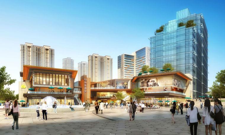 [湖南]长沙绿地新都会建筑模型设计-长沙知名地产新都会 (1)