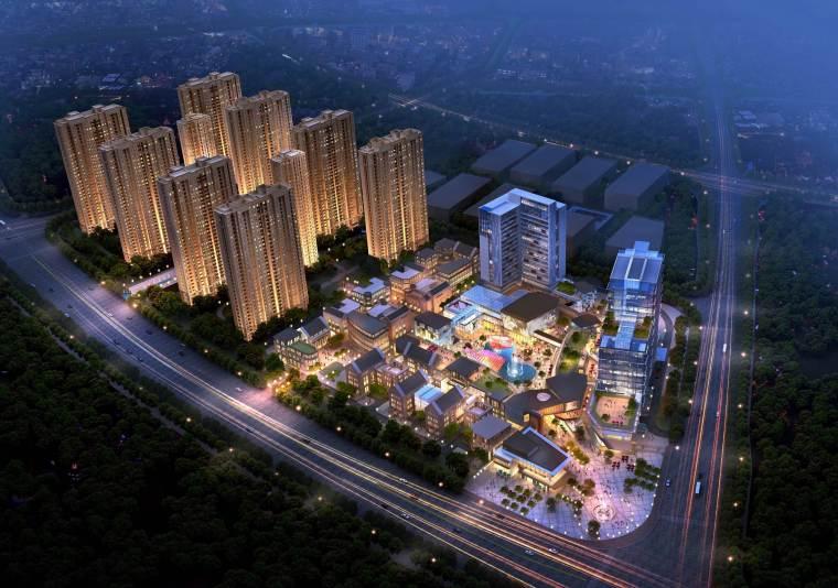 [湖南]长沙绿地新都会建筑模型设计-长沙知名地产新都会 (12)