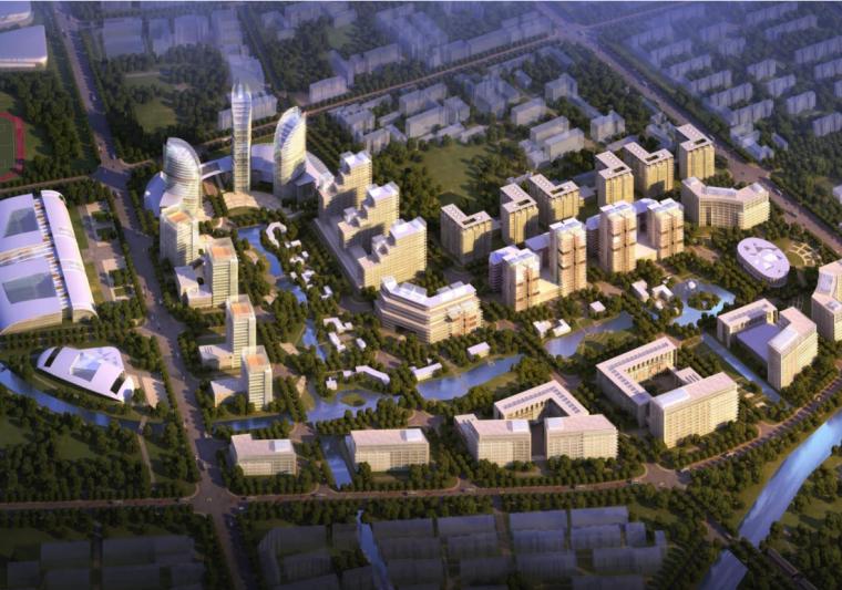 [天津]西青区杨柳青镇CBD规划设计文本