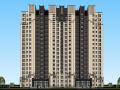 新古典高层住宅建筑模型设计(水石)