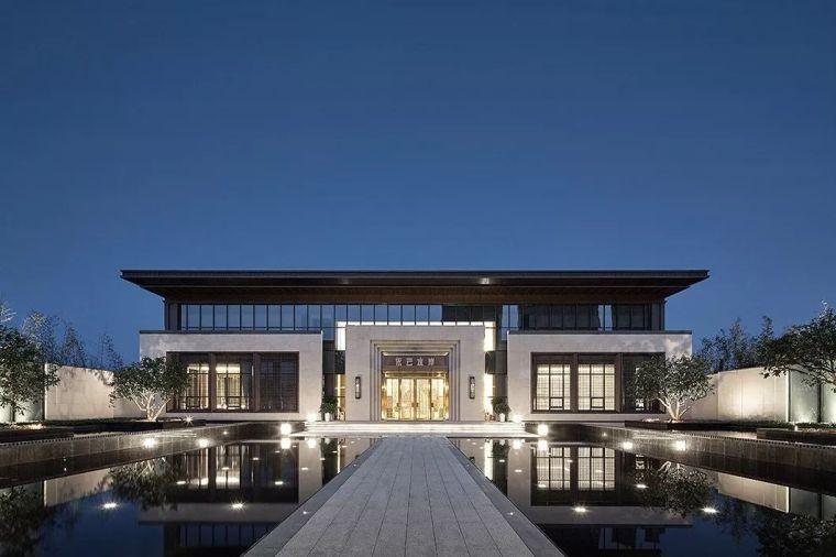 1190㎡中式情调与现代优雅共融的售楼处软装