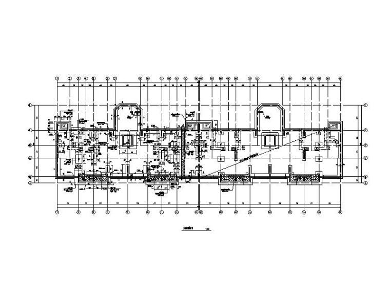 [济南]6层异形柱-框剪结构住宅楼结构施工图