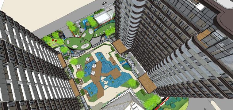[上海]现代风格五里桥豪宅建筑模型设计-上海知名地产五里桥豪宅 天华 (9)
