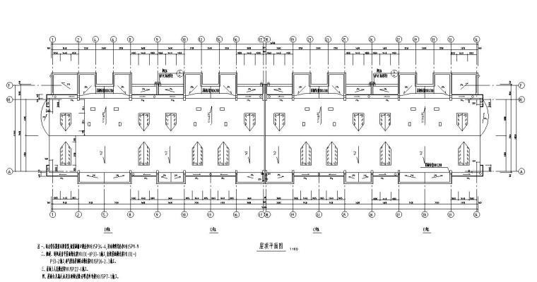 5层4单元每单元2户住宅楼设计图