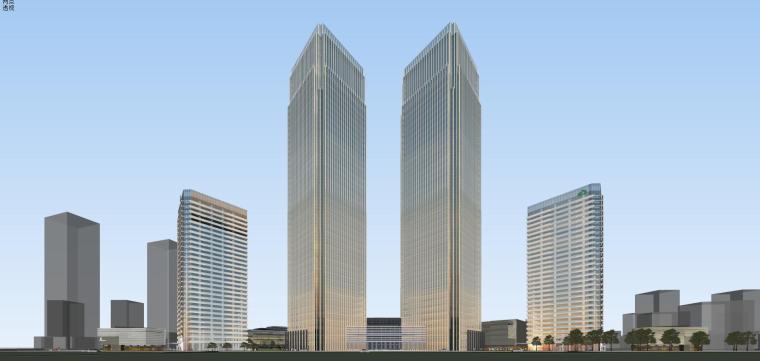 [山东]青岛现代风格商业建筑模型设计-知名地产青岛海外滩拼模 (6)